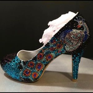 Marc Defang Peacock shoes size 7.5